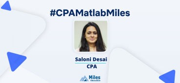 Miles CPA video testimonial by Saloni