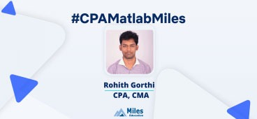 Miles CPA video testimonial by Rohith